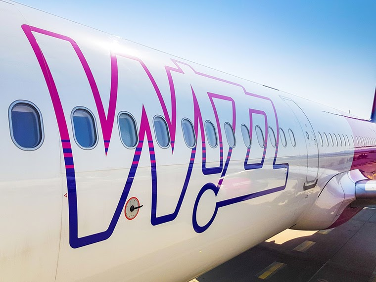 wizz air exterior design