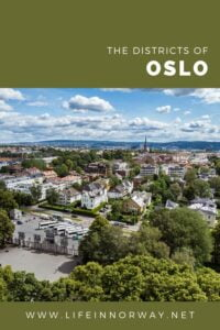The Districts of Oslo, Norway