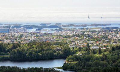 Haugesund in western Norway