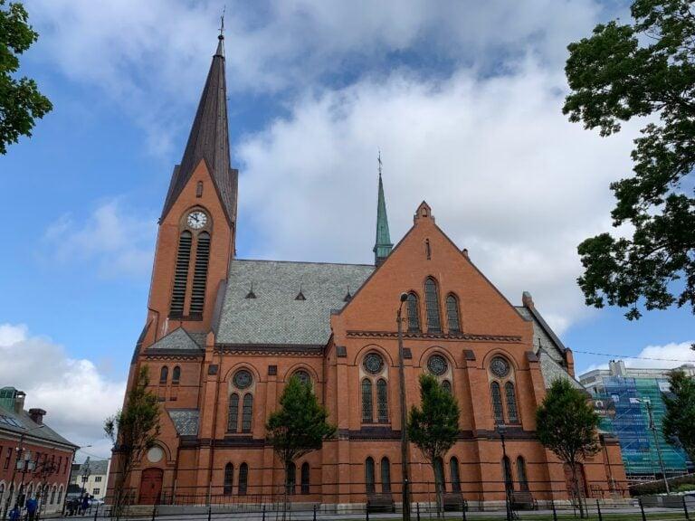 Our Savior's Church (Vår Frelsers Church) in Haugesund, Norway