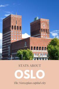 Oslo Stats Pin
