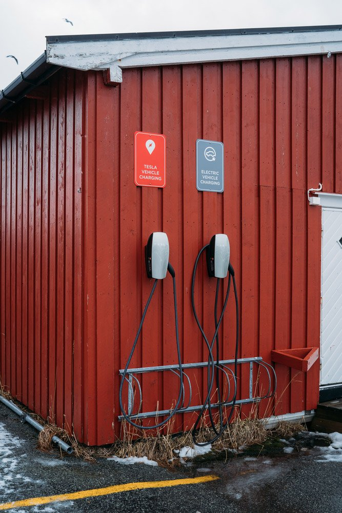 Home charging station for electric vehicles