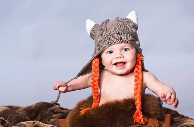 A Norway Viking baby