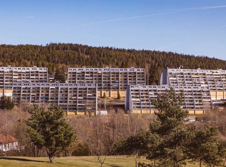 Apartment blocks in Stovner, Oslo