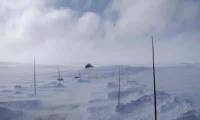 Hardangervidda national scenic route in Norway