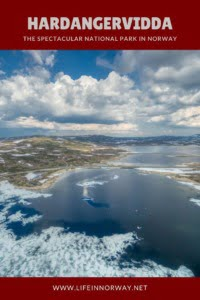 Hardangervidda in Norway pin
