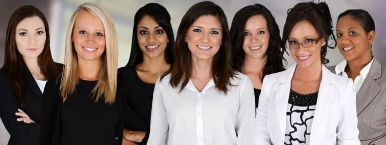 A diverse range of businesswomen in Norway