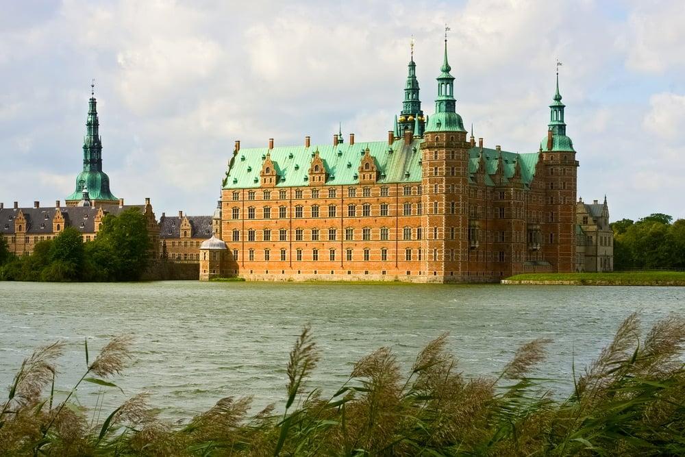 Frederiksborg castle in Denmark
