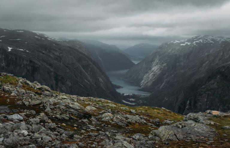A stunning landscape from Hardangervidda