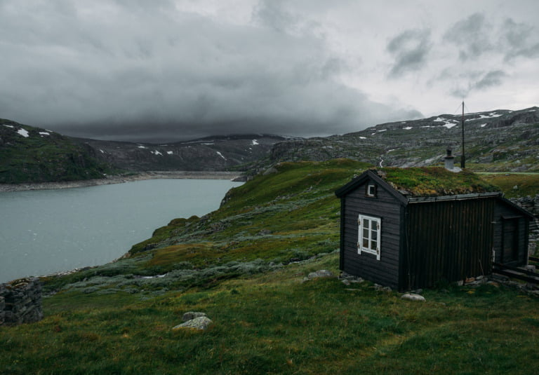 A hiking cabin in Handervidda, Norway
