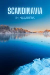 Scandinavia in numbers for pinterest