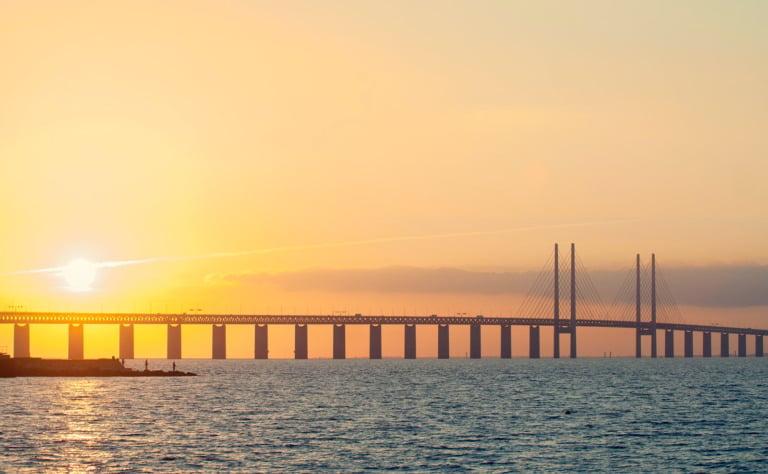 Scandinavia's Øresund bridge