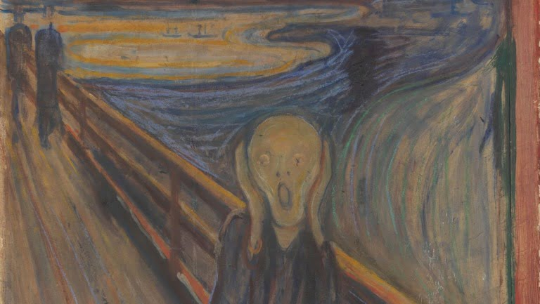 The Scream, a famous Norwegian artwork.