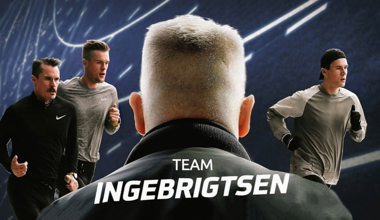 Team Ingebrigtsen TV series promotional photo