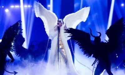 Tix on stage at Melodi Grand Prix 2021