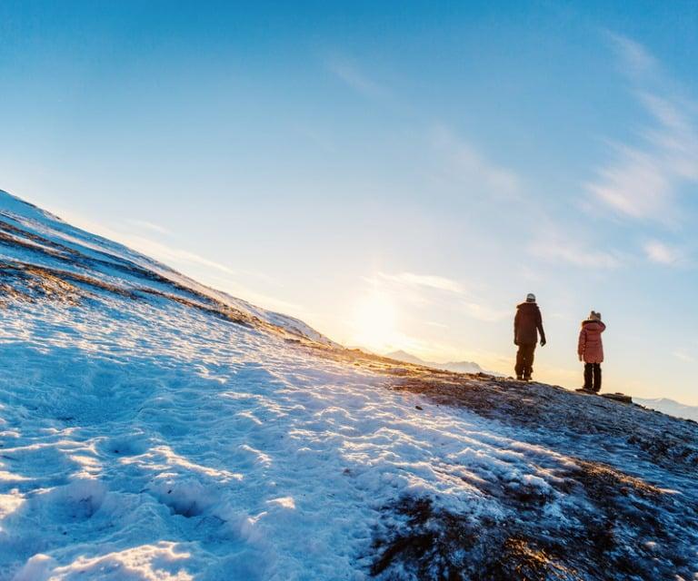 Tromsø winter landscape