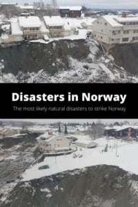 Natural disasters in Norway pin