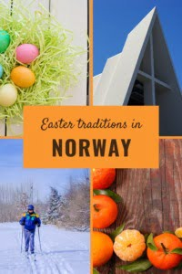 Easter traditions in Norway for pinterest