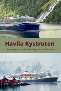 Havila Kystruten pin