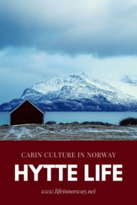 Norway Cabin Culture pin