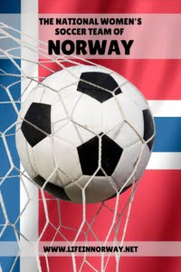 The Norway Women's National Soccer Team pin