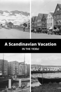 Scandinavia 1930s Vacation pin