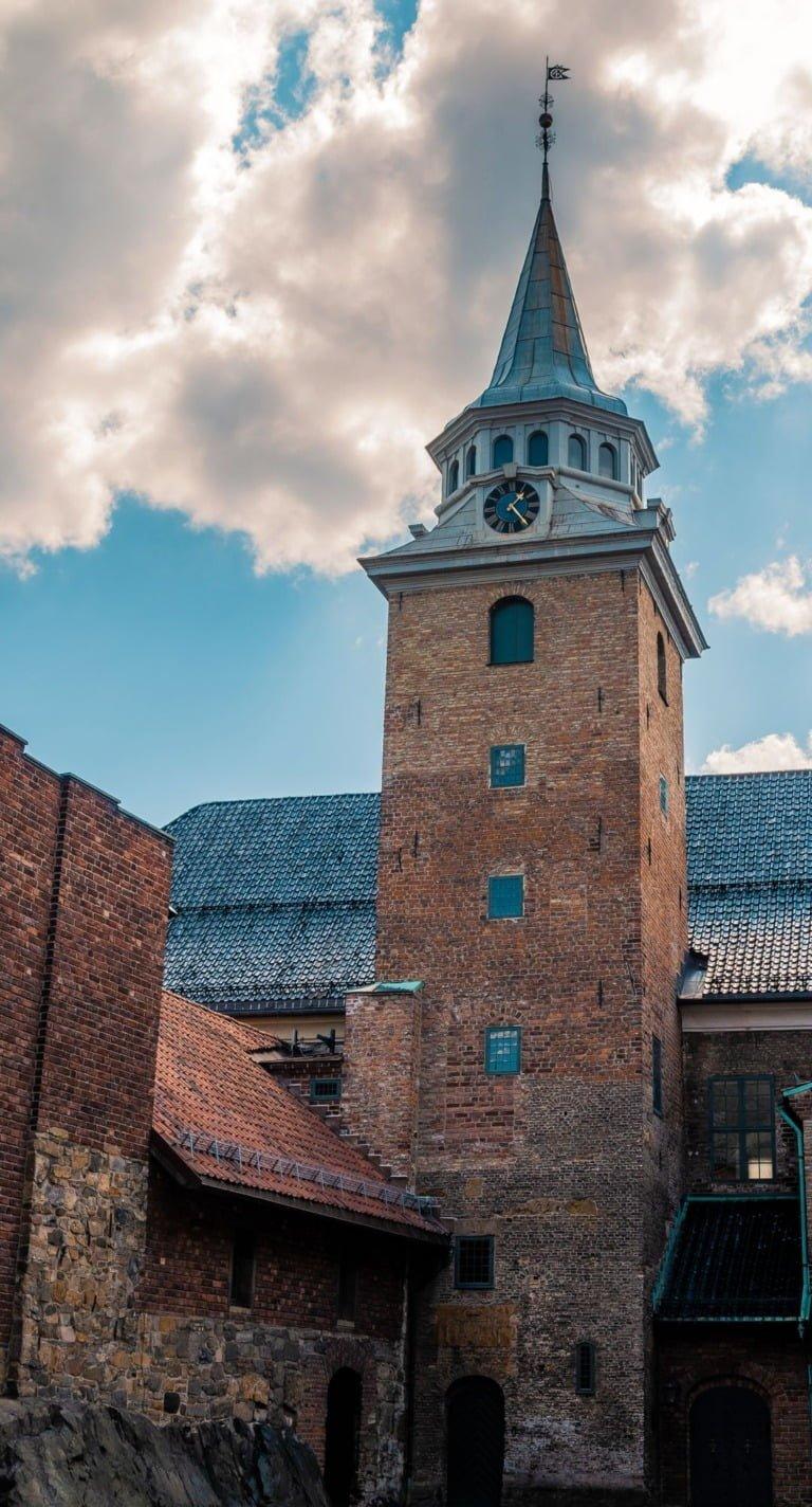 Akershus Castle tower in Oslo