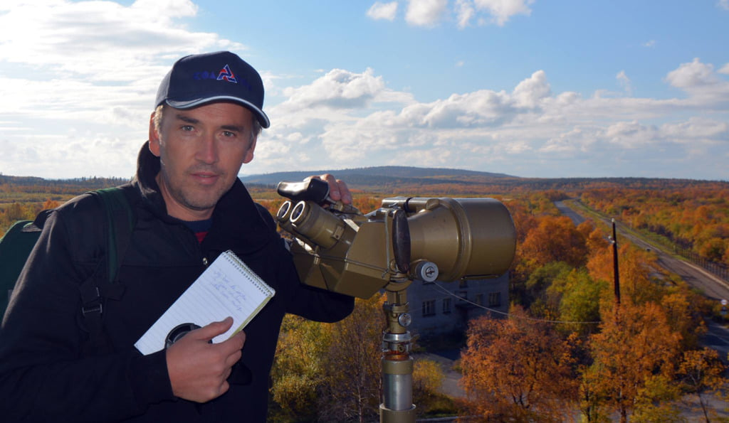 Thomas Nilsen of the Barents Observer in Kirkenes, Norway