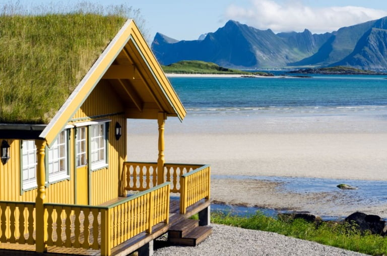 A holiday cottage in Lofoten
