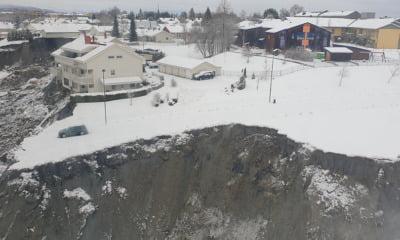 The Gjerdrum quick clay landslide in Norway