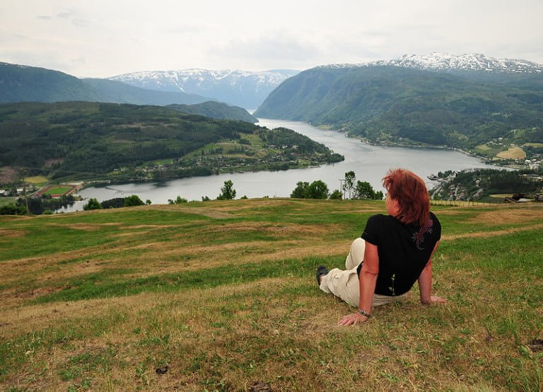 Lonely immigrant in rural Norway