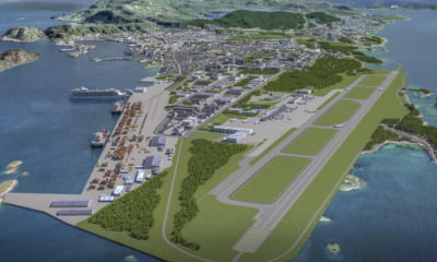 New airport plan for Bodø, Norway