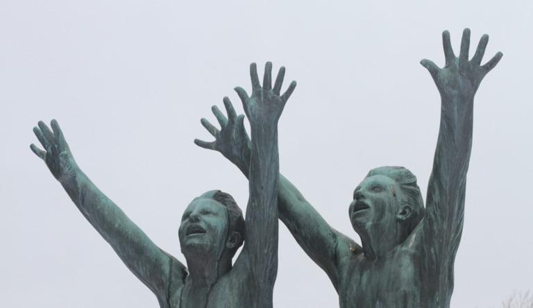 Poor children in Norway