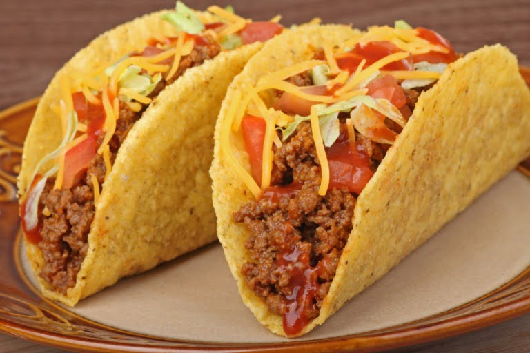 Norwegian TexMex taco food