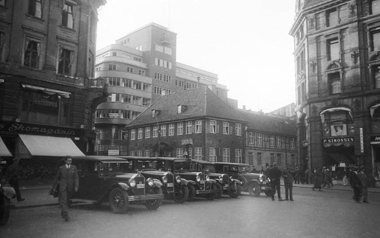 Oslo Stortorvet in 1932