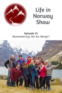 Remembering Alt for Norge