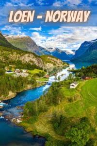 Loen Norway spectacular scenery