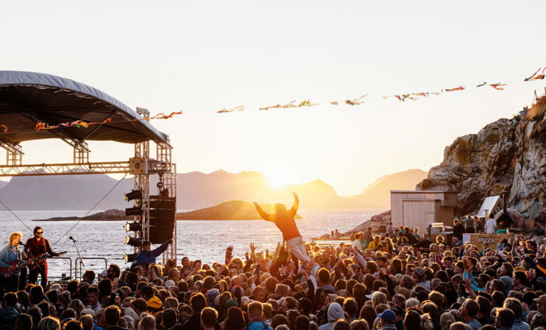 Trevarefest in Bodø, Norway