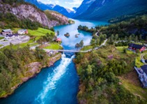 Loen: Norway's 'Instagram Village' In Pictures