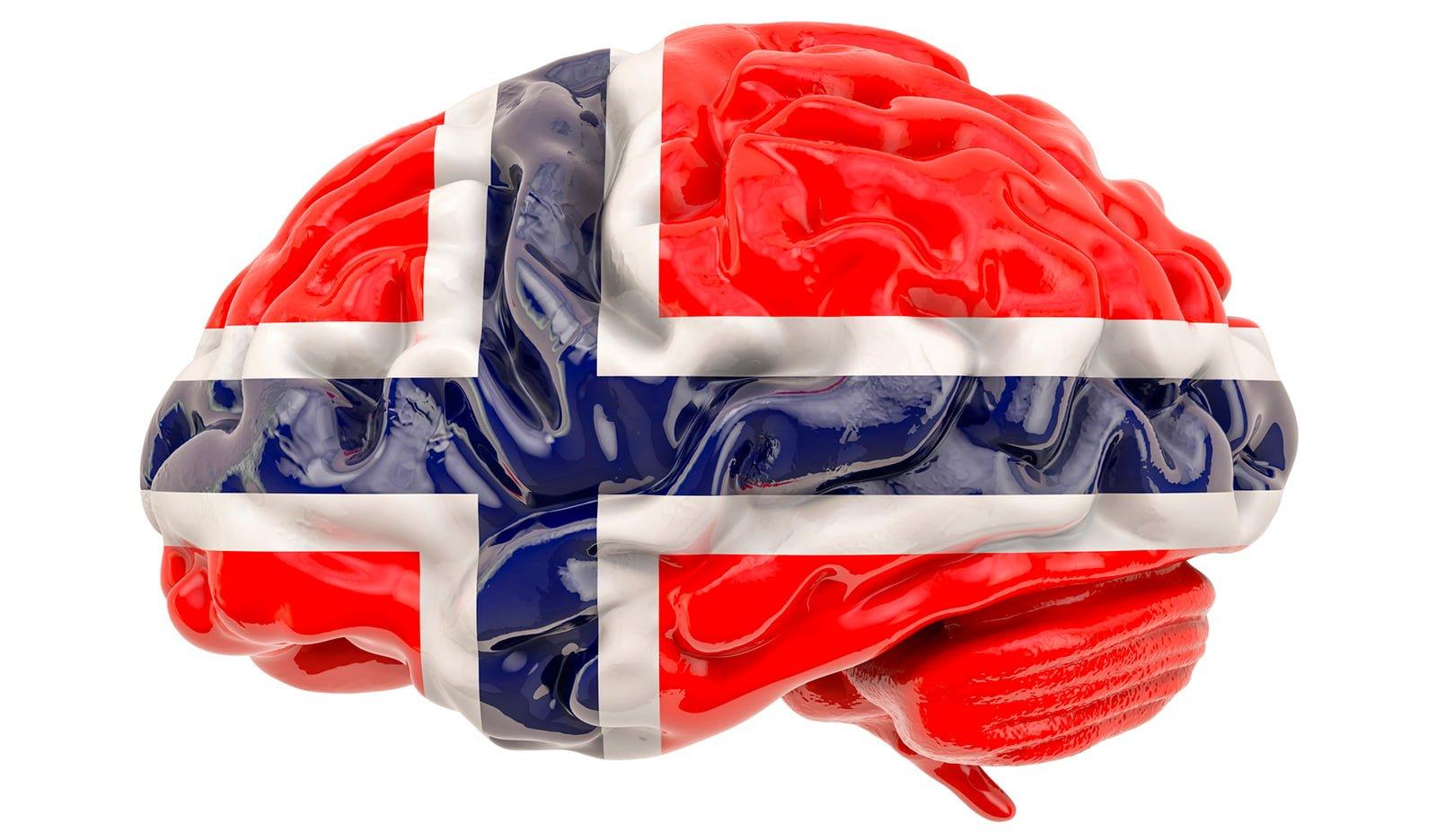 The Norwegian language brain