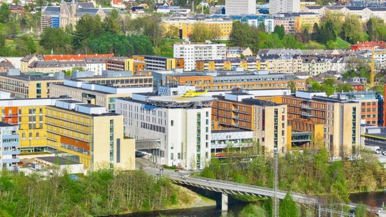 St. Olav's Hospital in Trondheim, Norway