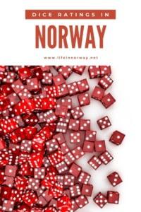 Norway dice ratings pin