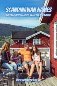 Scandinavian family names pin