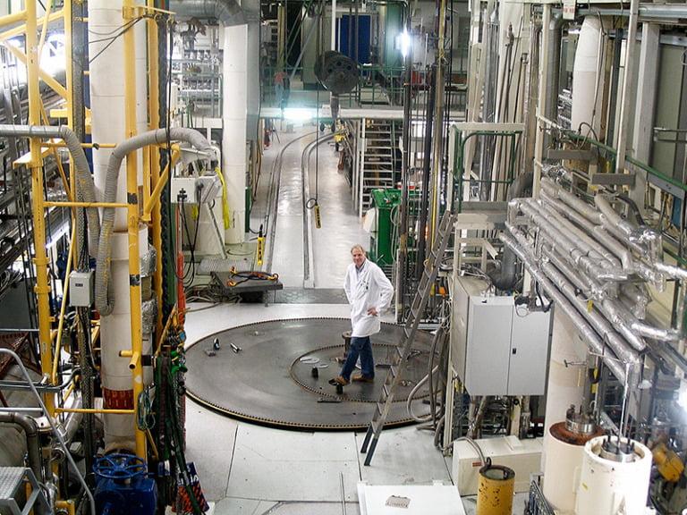 Inside Norway's Halden reactor