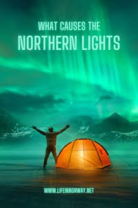 What causes the northern lights pin