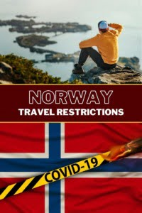 Norway Travel Restrictions Pin