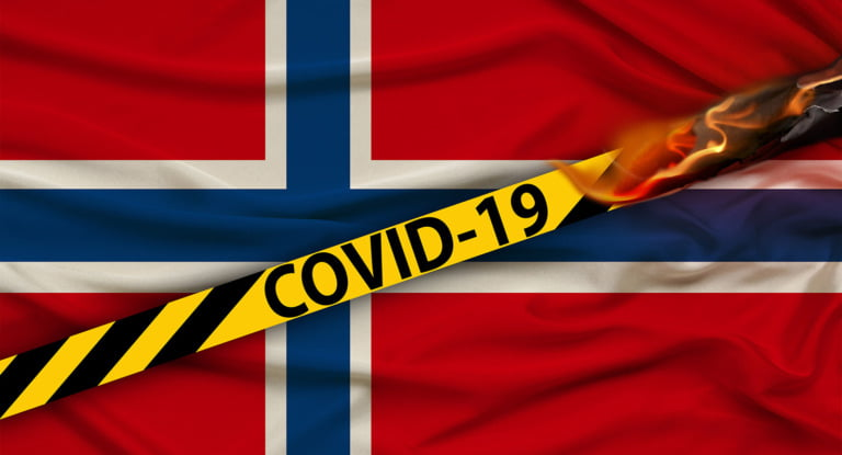 Norway travel restrictions banner