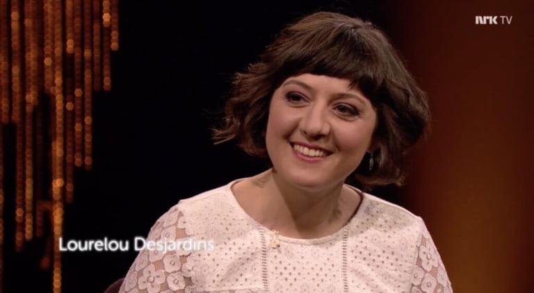 Lorelou on NRK TV in Norway.