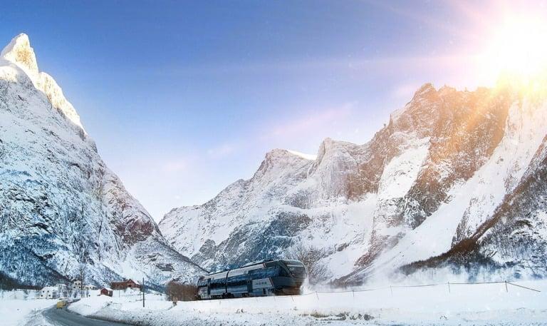 Rauma Line in winter