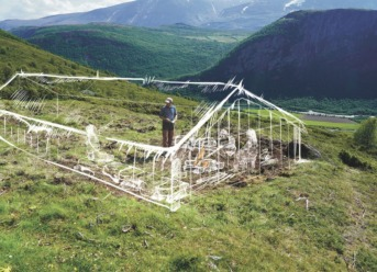 Viking Village Discovered in the Norwegian Mountains